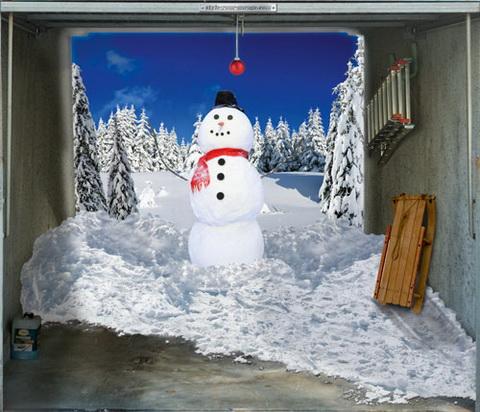 Garázsmatrica havas