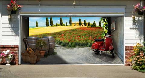 Garázsmatrica Toscana