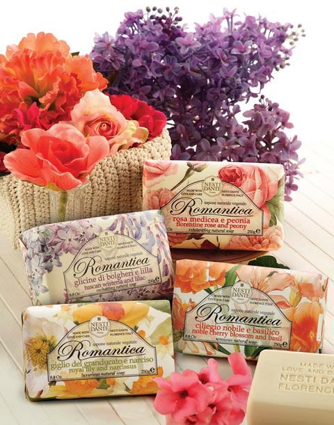 Nesti Dante natúr szappan romantikus virágos illattal