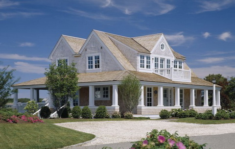 New Englandi stílusú ház Cape Cod-on