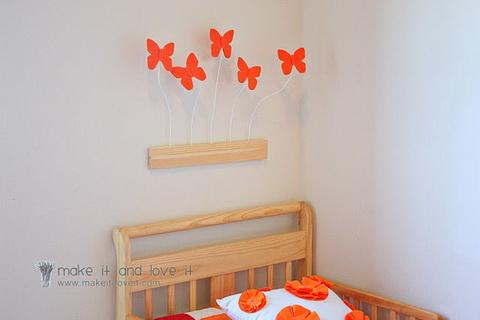 3d pillangók