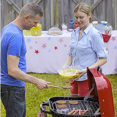 Stílusos grill parti