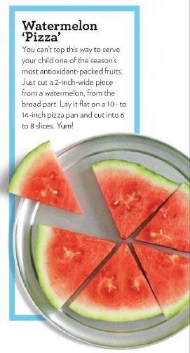 görögdinnye pizza