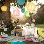 Piknik H&M módra