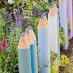 Ceruza a kertben