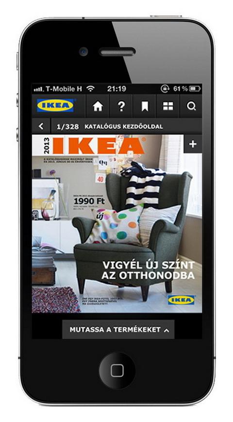 Interaktív IKEA katalógus
