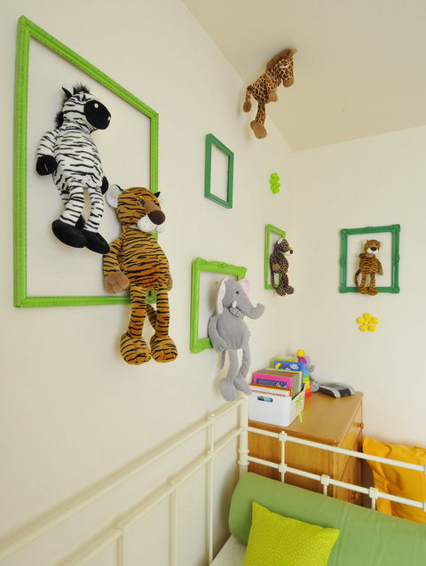 Safari kid room szafaris gyerekszoba