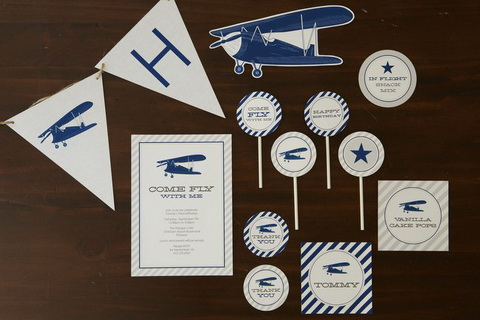 Vintage Airplane Party