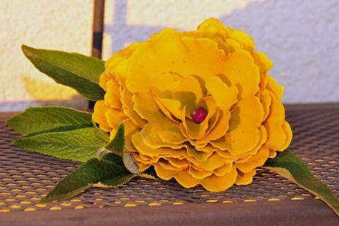 Ginkgo biloba levélből virág Dekorella