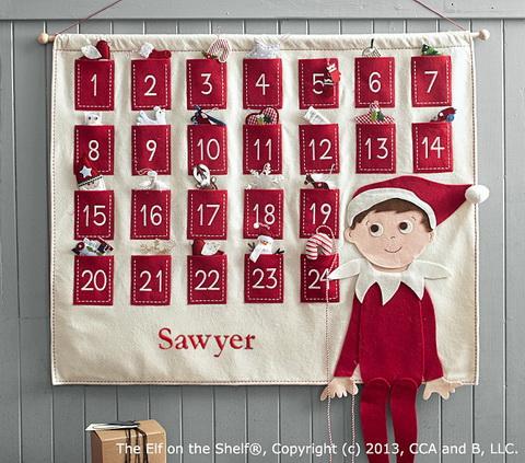manós adventi kalendárium