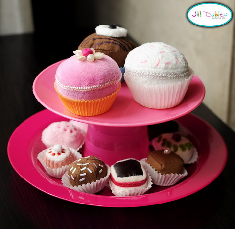 textil cupcake