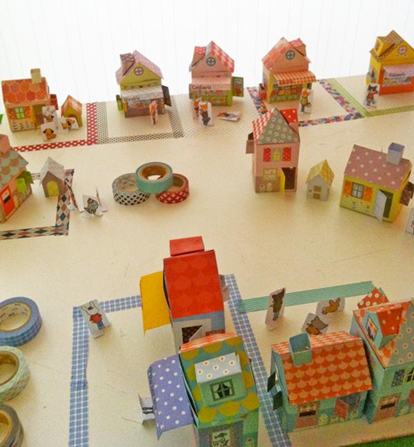 dekortapasz falu gyerekeknek