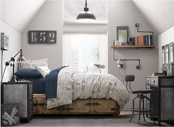 fiúszoba ipari industrial stílusban (3)