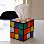Rubik kocka zsepitartó