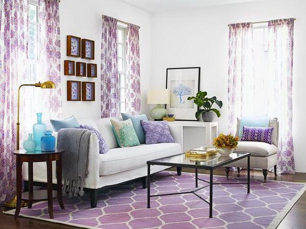 nappali szoba  lila