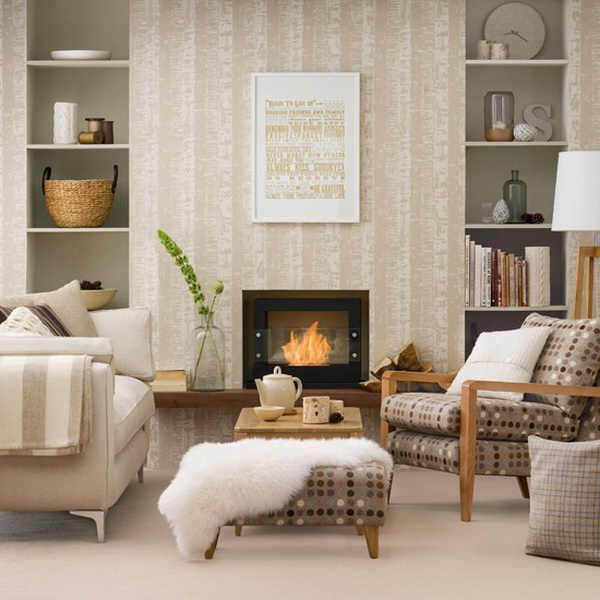 decorating a living room with a fireplace a 25 legszebb semleges sz 237 nekkel h 243 d 237 t 243 nappali dekorella 27719