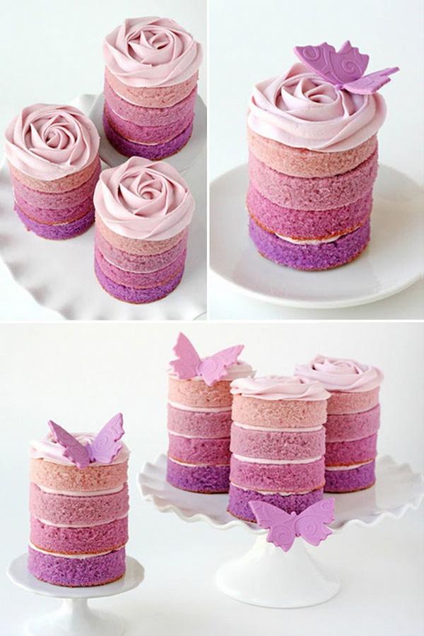 pillangós süti elegánsan