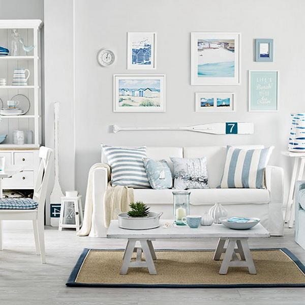vízparti nappali szoba