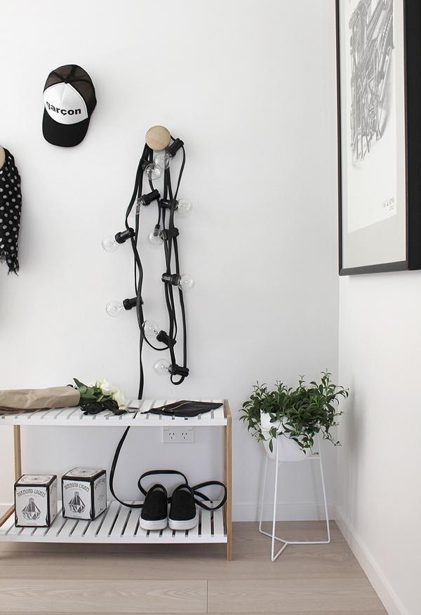 villanykörte lámpasor skandináv trend