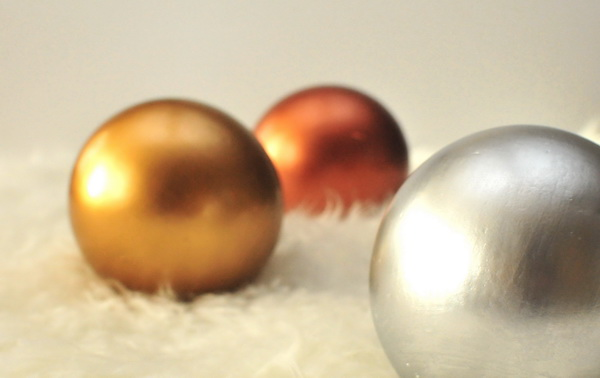 festett fa golyók Pinty Plus evolution Dekorella