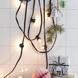 Villanykörte lámpasor – új skandináv trend