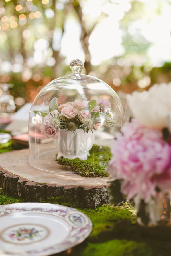 üvegbura dekor esküvőn