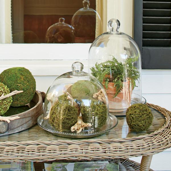 dekoratív üvegbura