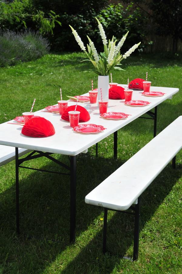 Piros fehér kerti party  (4)