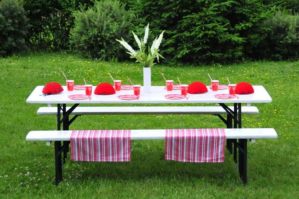 Piros fehér kerti party  (9)