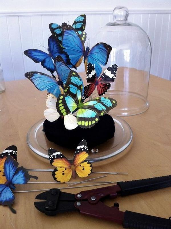 pillangós üvegbura DIY