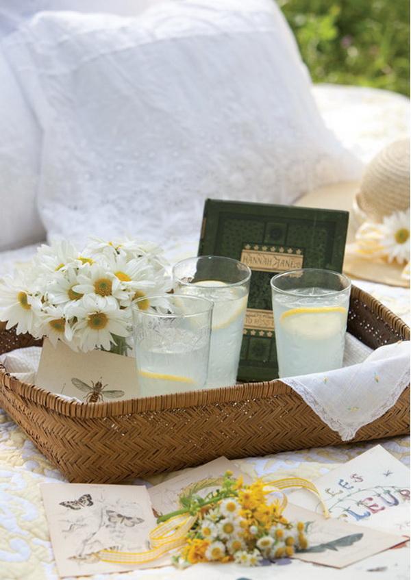 nyári romantikus piknik