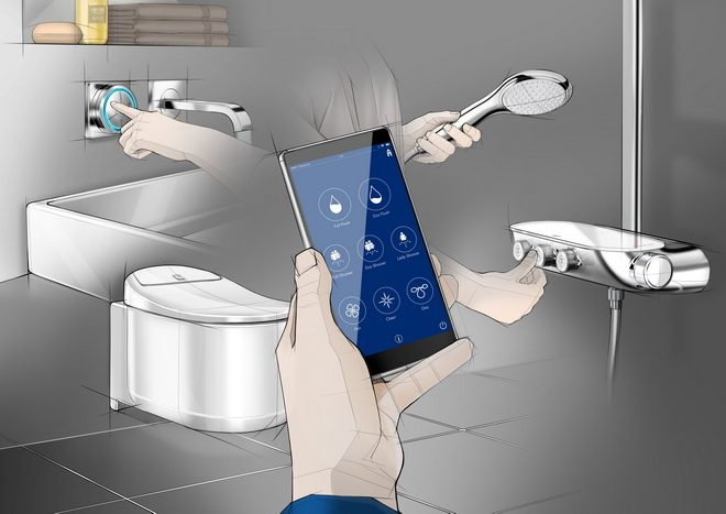 Grohe Smart Home Okos Otthon