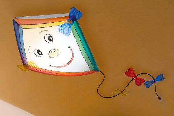 Ledison papírsárkány lámpa