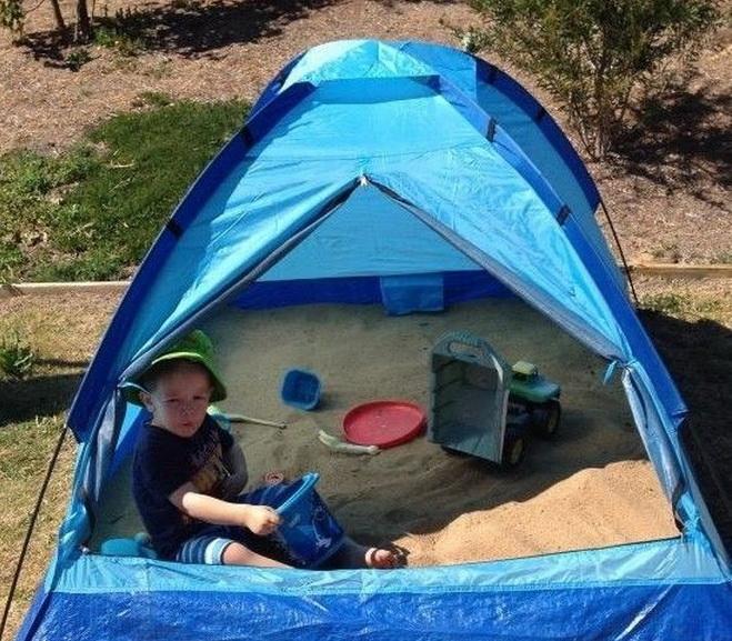 Homokozó sátor