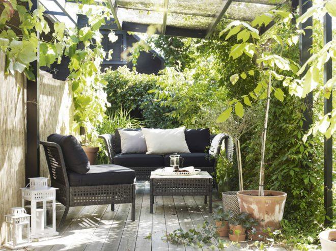 Kungsholmen kültéri relaxáló bútor