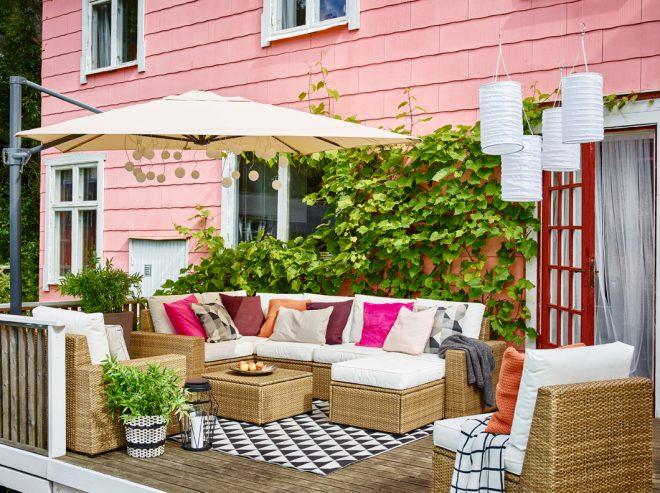 Sollerön kerti pihenő bútor IKEA