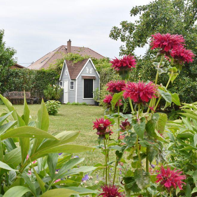 Dekorella fa kerti ház festés